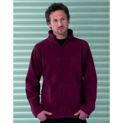 Russell Mens Full Zip Outdoor Fleece Jacket 8700M