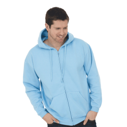 Adults Classic Full Zip Hooded Sweatshirt UC504