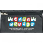 Zipped Nylon Pencil Case with PVC backing