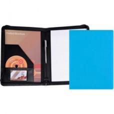 Belluno PU A4 Zipped Conference Folder