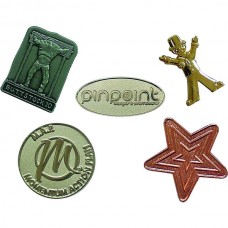 Metal Relief Pin Badge