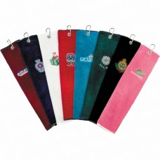 Plain Tri-Fold Golfers Towels