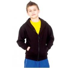Kids Classic Full Zip Hooded Sweatshirt