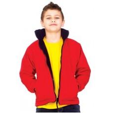 Kids Premium Reversible Fleece Jacket