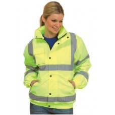 High Visibility Bomber Jacket UC804